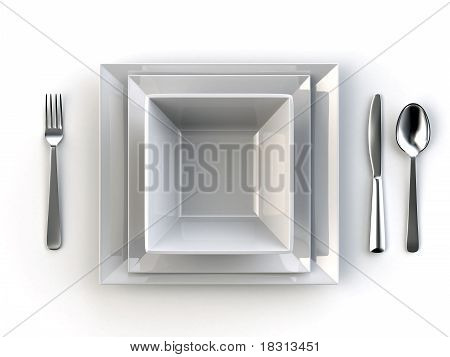 dining table topview
