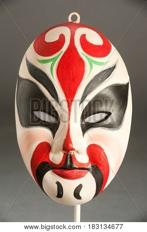 Mask Of A Traditional Chinese Theater