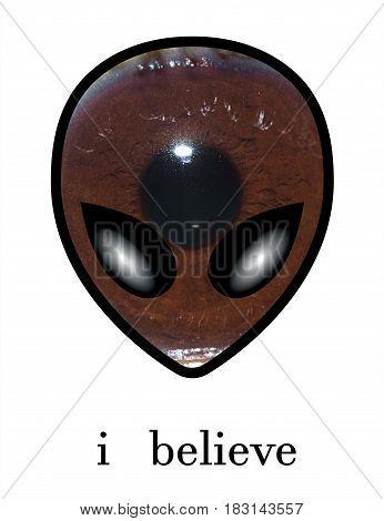 i believe extraterrestrial life conspiracy  secret ufo