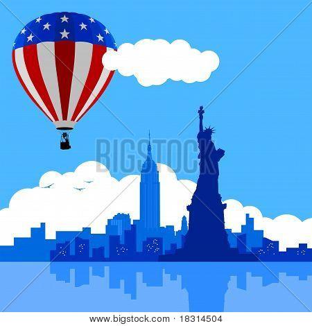 Luftballon NewYork