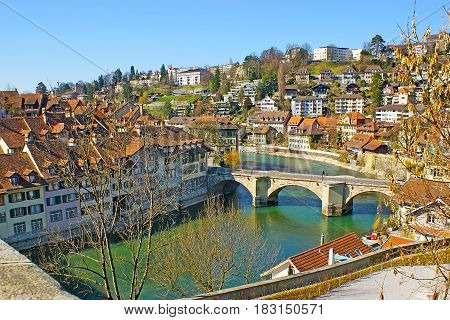 The Untertor Bridge In Bern