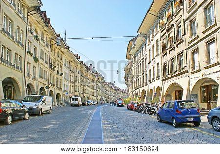 The Walk In Gerechtigkeitsgasse