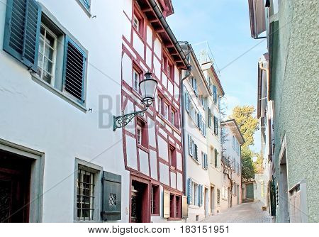 The Backstreets Of Zurich