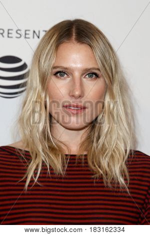 NEW YORK-APR 22: Dree Hemingway attends the Love After Love' screening at SVA Theatre during the 2017 TriBeCa Film Festival on April 22, 2017 in New York City.