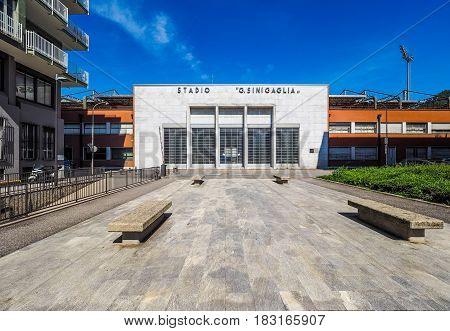 Stadio Sinigaglia Stadium In Como (hdr)