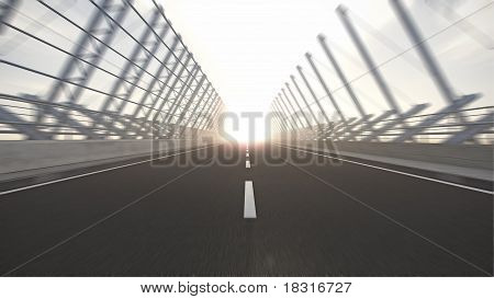 road to nowhere motion blur