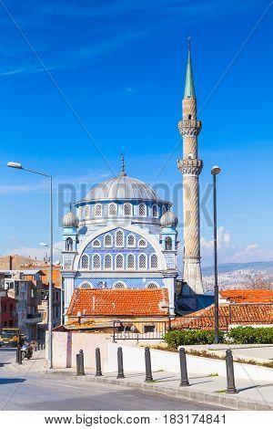 Old Mosque Fatih Camii In Izmir City, Turkey