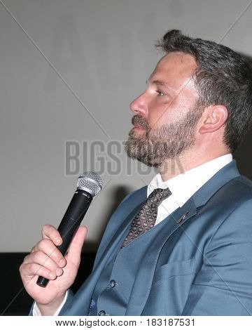 LOS ANGELES - APR 23:  Ben Affleck at the 1st Annual AutFest International Film Festival at AMC Orange 30 on April 23, 2017 in Orange, CA