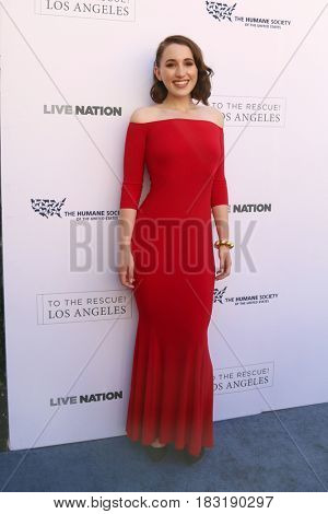 LOS ANGELES - APR 22:  Harley Quinn Smith at the 2017 The Humane Society Gala at Parmount Studios on April 22, 2017 in Los Angeles, CA