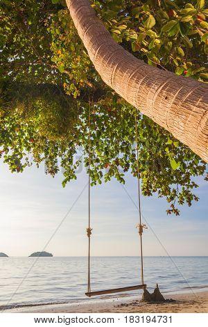 Tropical sea beach at Koh Change island Thailand