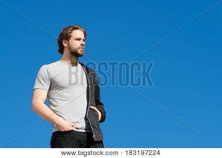 Future Life And Perspective, Male Fashion, Summer Concept