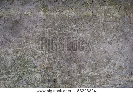 Old Concrete Gray Floor With Streaks