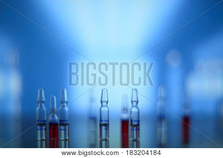 Medical Syringe And Vials