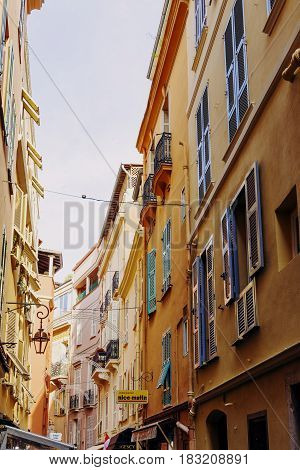 Tiny And Colorful Streets Of Monaco