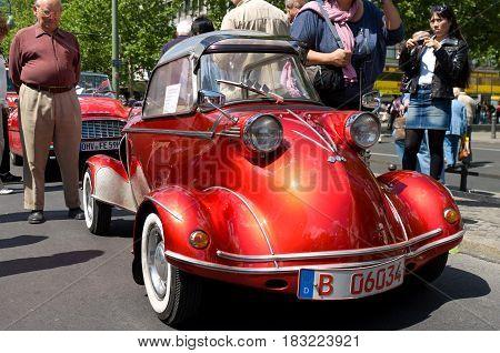 BERLIN - MAY 28: Messerschmitt TG500 Tiger the exhibition