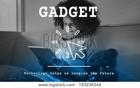 Digital Device Gadget Technology Concept