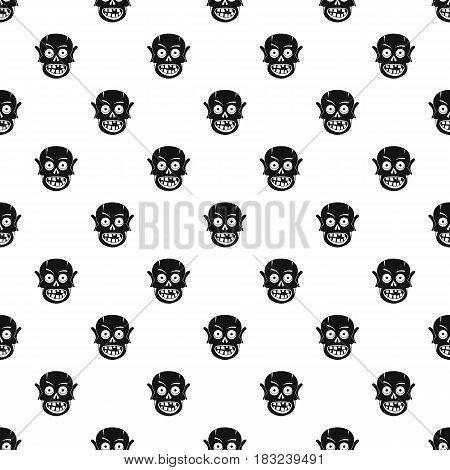 Living dead pattern seamless in simple style vector illustration