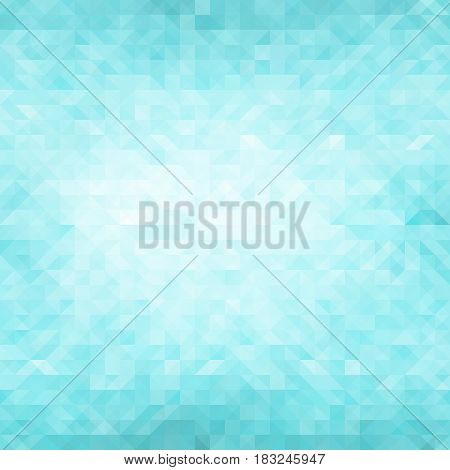 Blue Polygonal Mosaic Background Creative Design Templates
