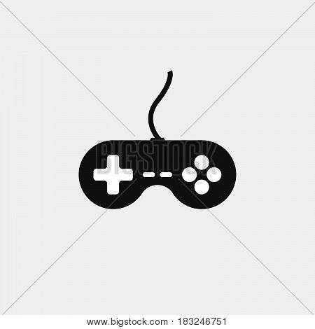 joystick icon isolated on white background .