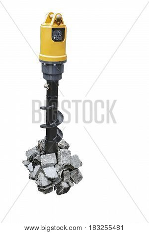 modern equipment for drilling of rocks has high reliability and performance