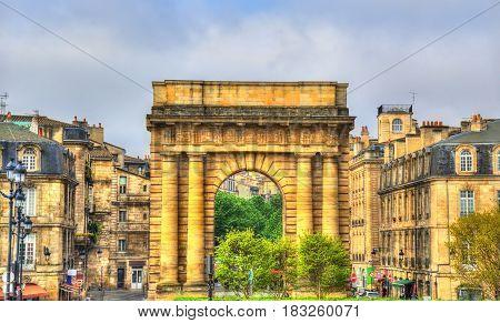 Porte de Bourgogne in Bordeaux - France, Aquitaine