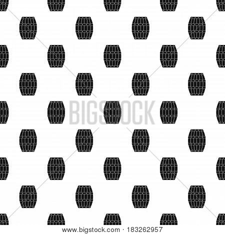 Barrel pattern seamless in simple style vector illustration