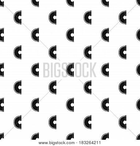 Piping connection pattern seamless in simple style vector illustration