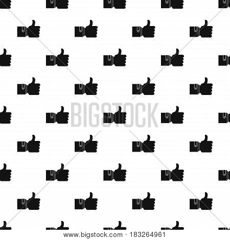 Like pattern seamless in simple style vector illustration