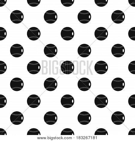 Baseball ball pattern seamless in simple style vector illustration