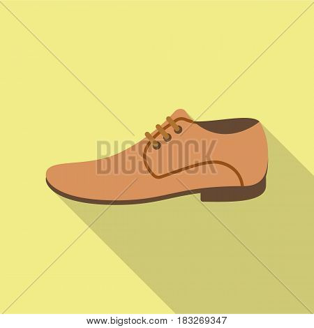 Men Shoes icon of vector illustration for web and mobile design