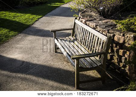 park bench. bench in the park, wooden bench, old bench in the park sidewalk, bench made of wood, park bench for people to rest, old antique bench, public park bench,