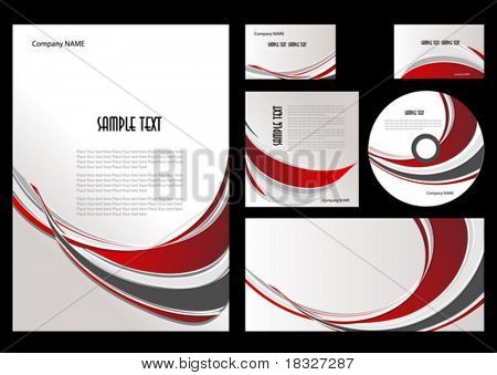 The elements of corporate branding style