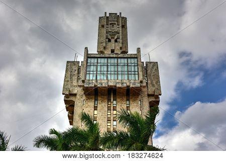The Embassy Of Russia In Havana, Cuba