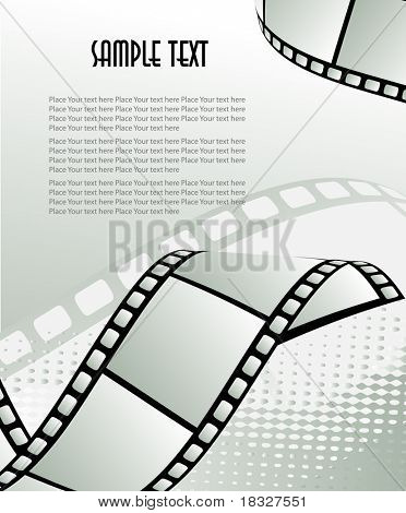 abstract photographic film