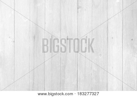 White Wood Wall Texture Suitable for Background.