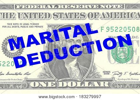 Marital Deduction Concept