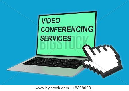 Video Conferencing Services Concept