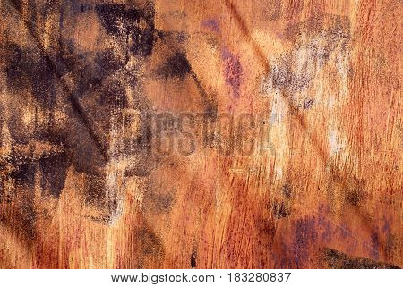 Old worn rusty metal texture background metal corrosion