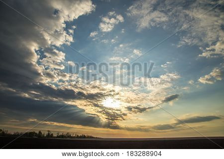 Dawn On The Field