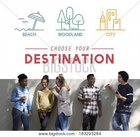 Travel Destination Trip Tourism Journey Wanderlust