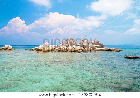 Lagoon Boulders Beautiful Sea