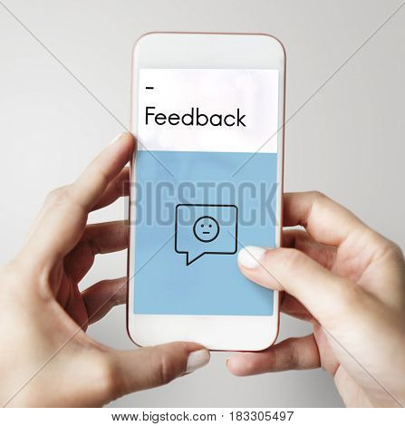 Rating Customer Service Satisfaction Icon Sign
