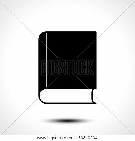 Book icon vector. Education symbol for your web site design, logo, app, UI.