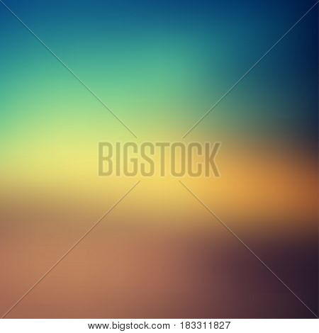 Blur abstract background. Colorful blurred background. Can be used for sunrise or sunset concept background.