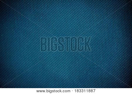The dark Blue plastic material texture background