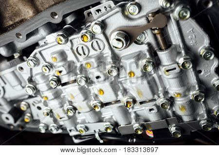 CVT automatic transmission, bottom view