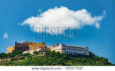 Sant-Elmo fortress, Certoza di San Martino's monastery. Naples, Italy