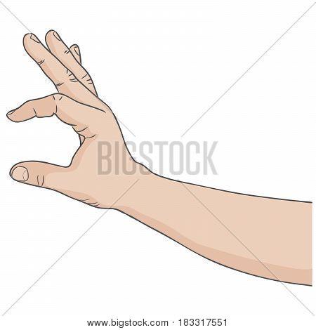 Hand gesture a little bit same as ok