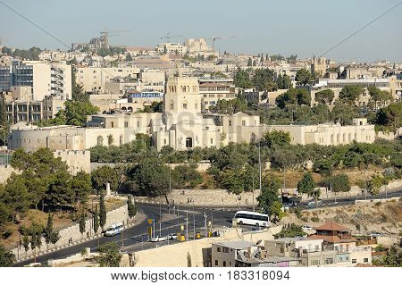 Jerusalem, View Of The Old City