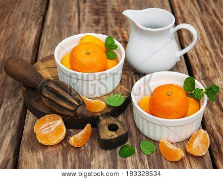 Tangerines And Old Juicer